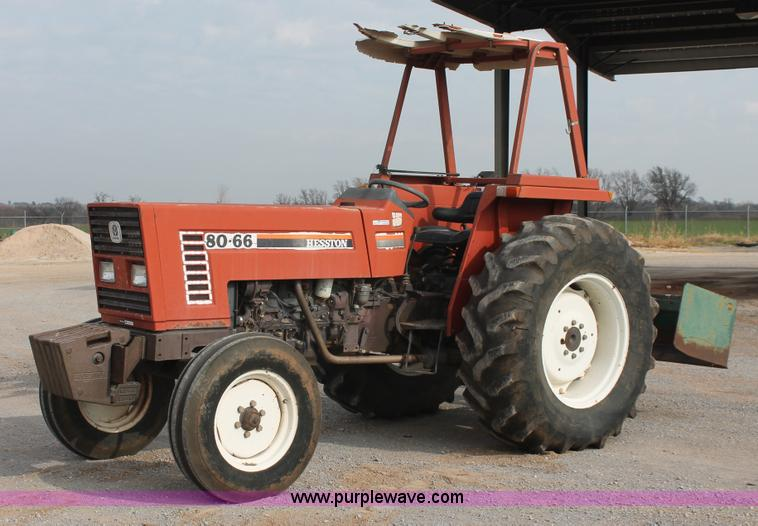 Fiat Hesston Tractors Farm : Hesston tractor item ak sold january