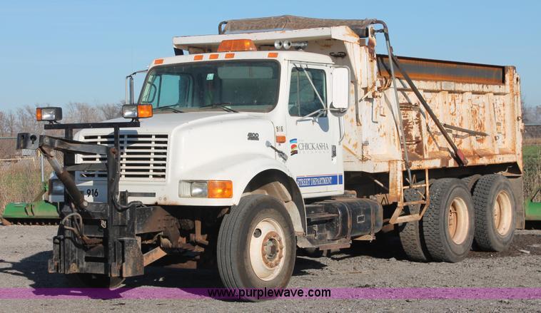 ak9640 image for item ak9640 1997 international 4900 dump truck