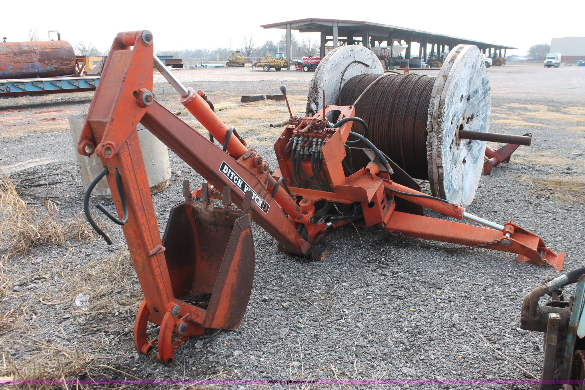 AK9627 image for item AK9627 Ditch Witch 140 backhoe