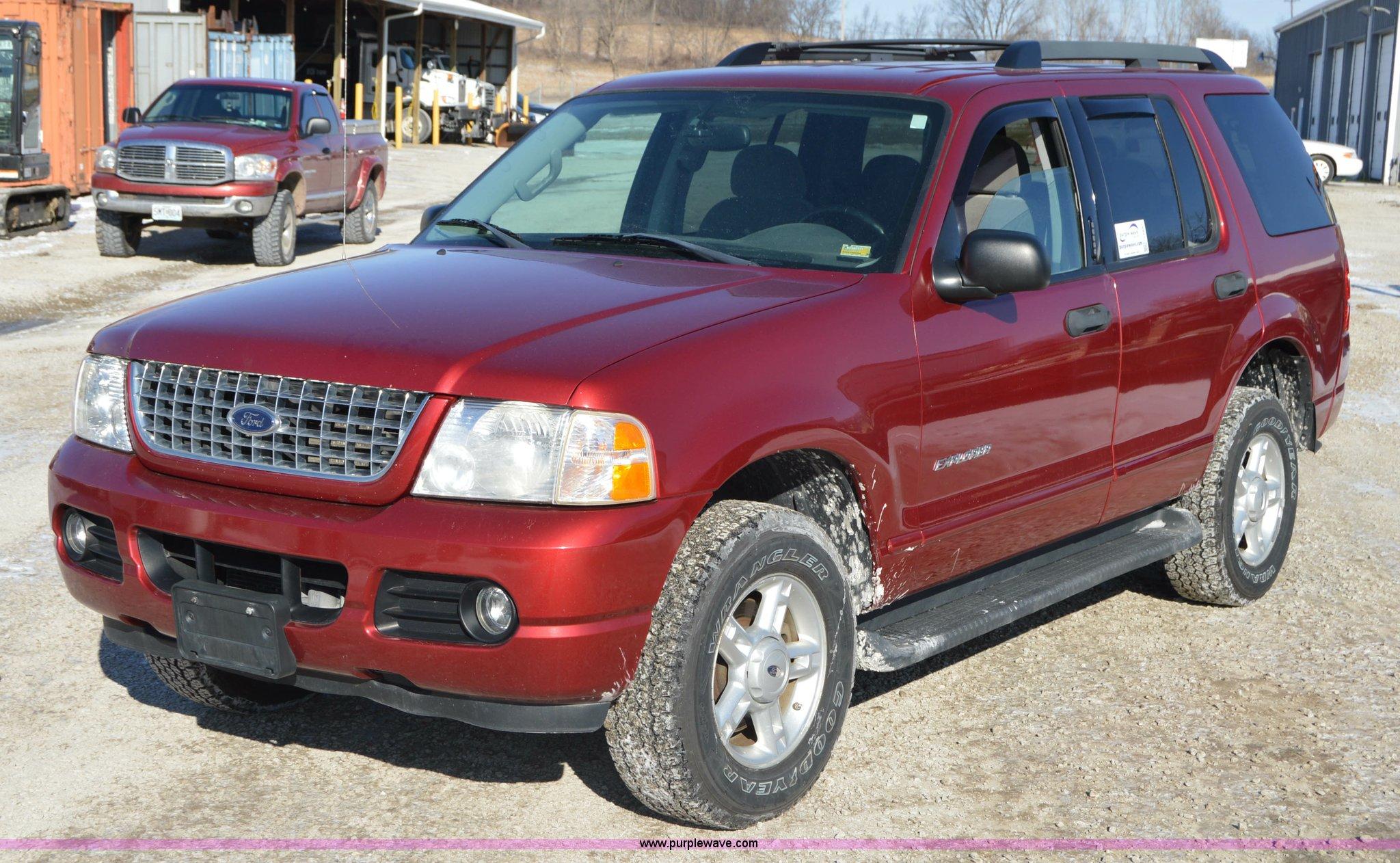 2005 Ford Explorer Advance Trac Rsc Suv Item I6887 Sold