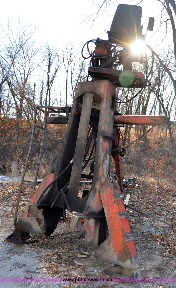 Prentice 110 truck mounted log grapple | Item I6869 | SOLD!