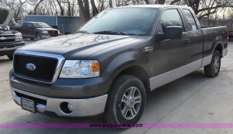 2007 ford f150 xlt supercab pickup truck | item i2310 | sold