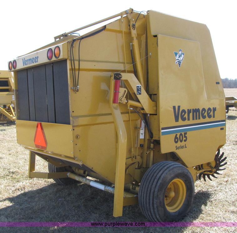 vermeer 605l round baler item f8943 sold february 11 ag rh purplewave com Vermeer 605C Round Baler Vermeer 605C Round Baler