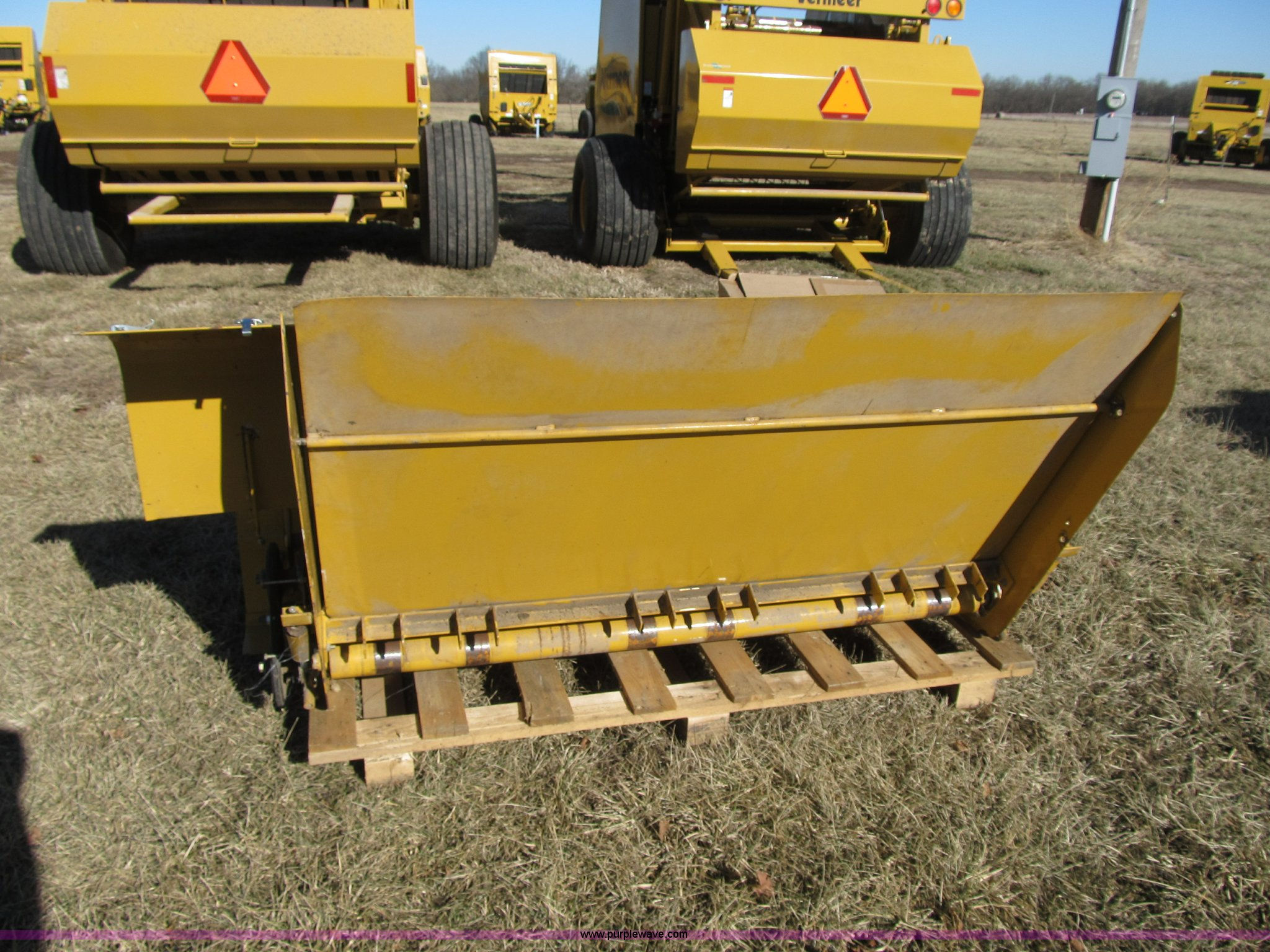 Vermeer net wrap assembly   Item F8945   SOLD! February 11 A