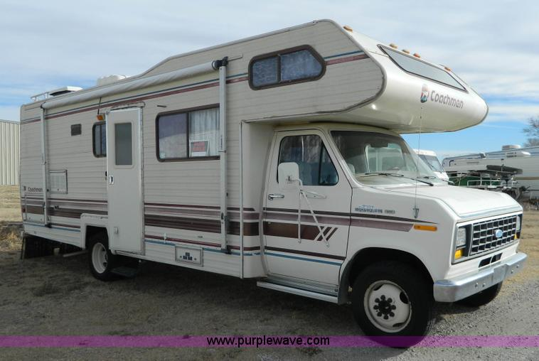 1985 Ford Econoline E350 Coachman 26' recreational vehicle