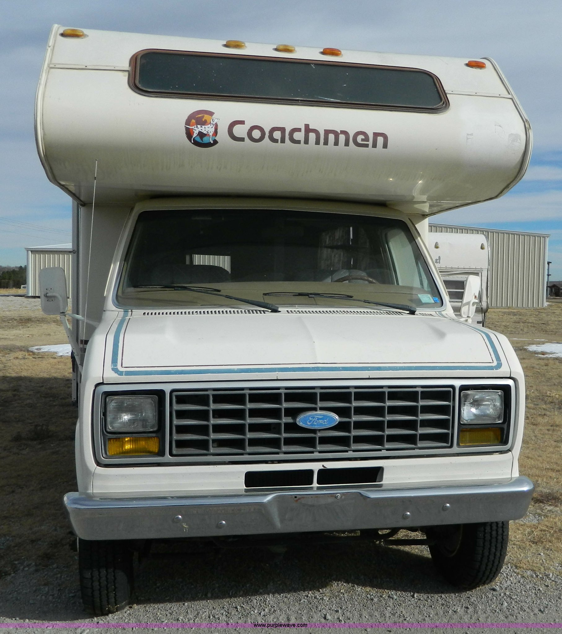 1985 Ford Econoline E350 Coachman 26' recreational vehicle |