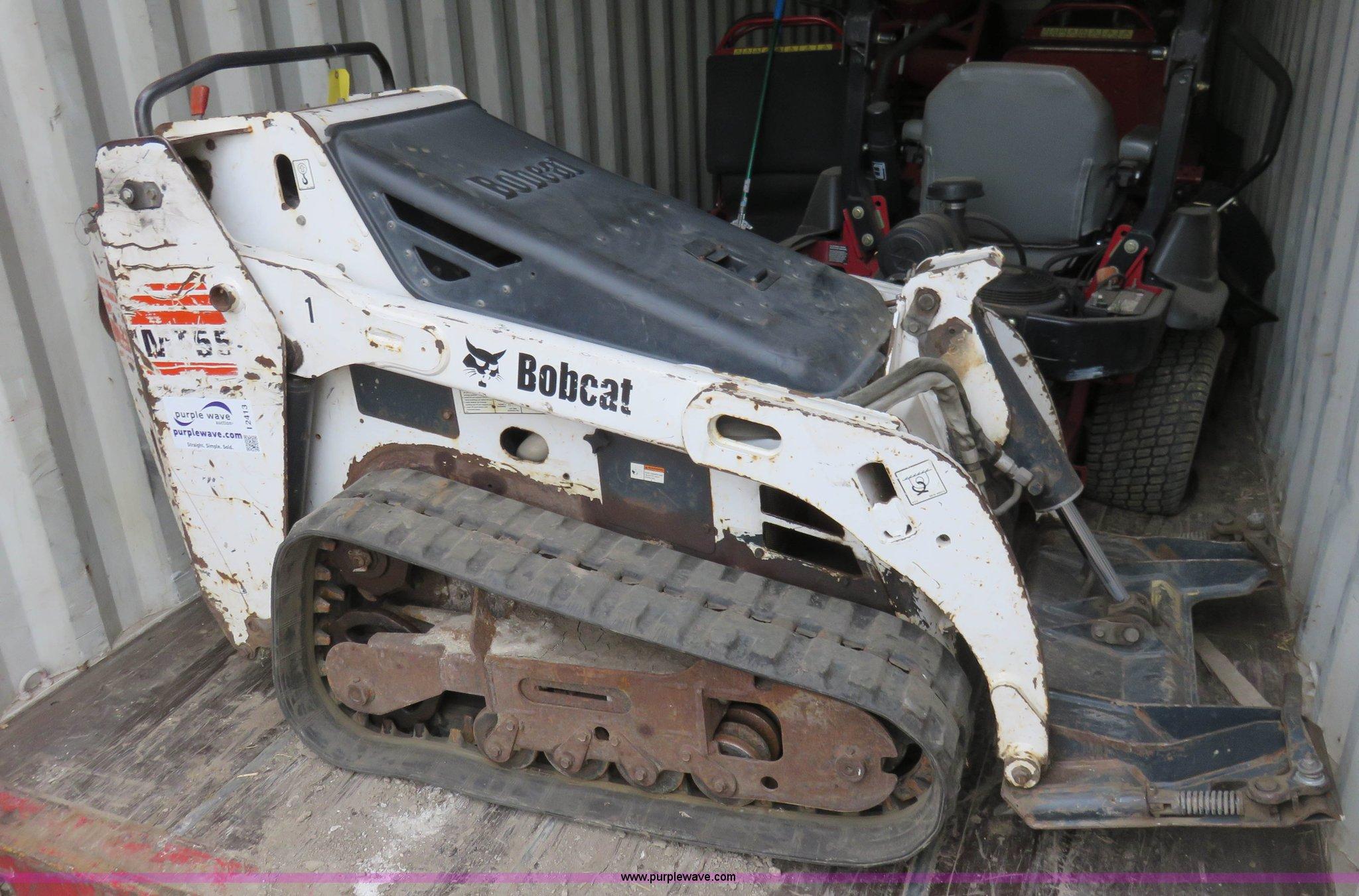 Bobcat MT55 mini track loader | Item I2413 | SOLD! February