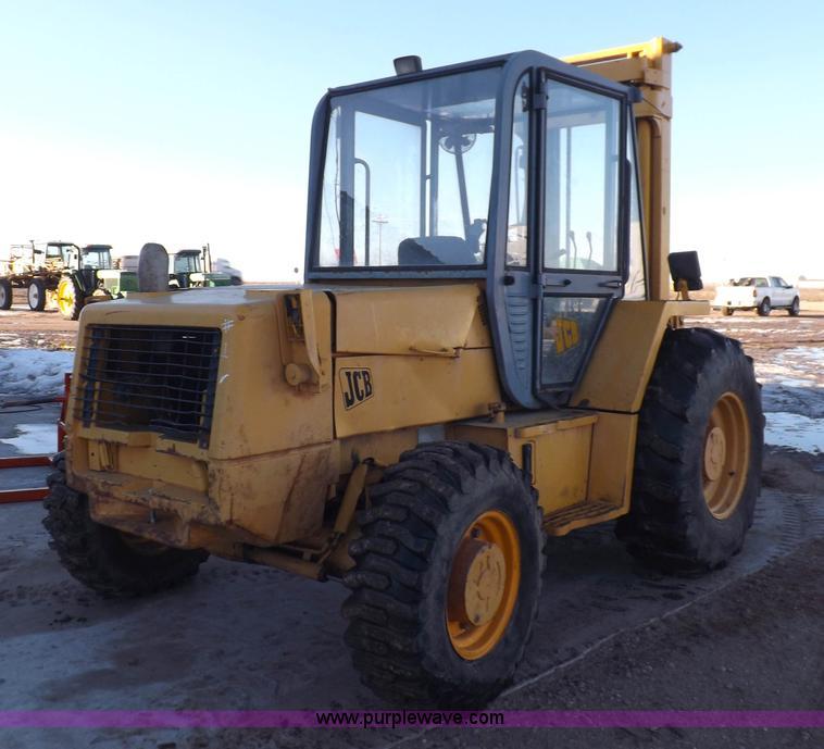Jcb 926 Rough Terrain Forklift In Sublette Ks Item K3126 Sold Purple Wave