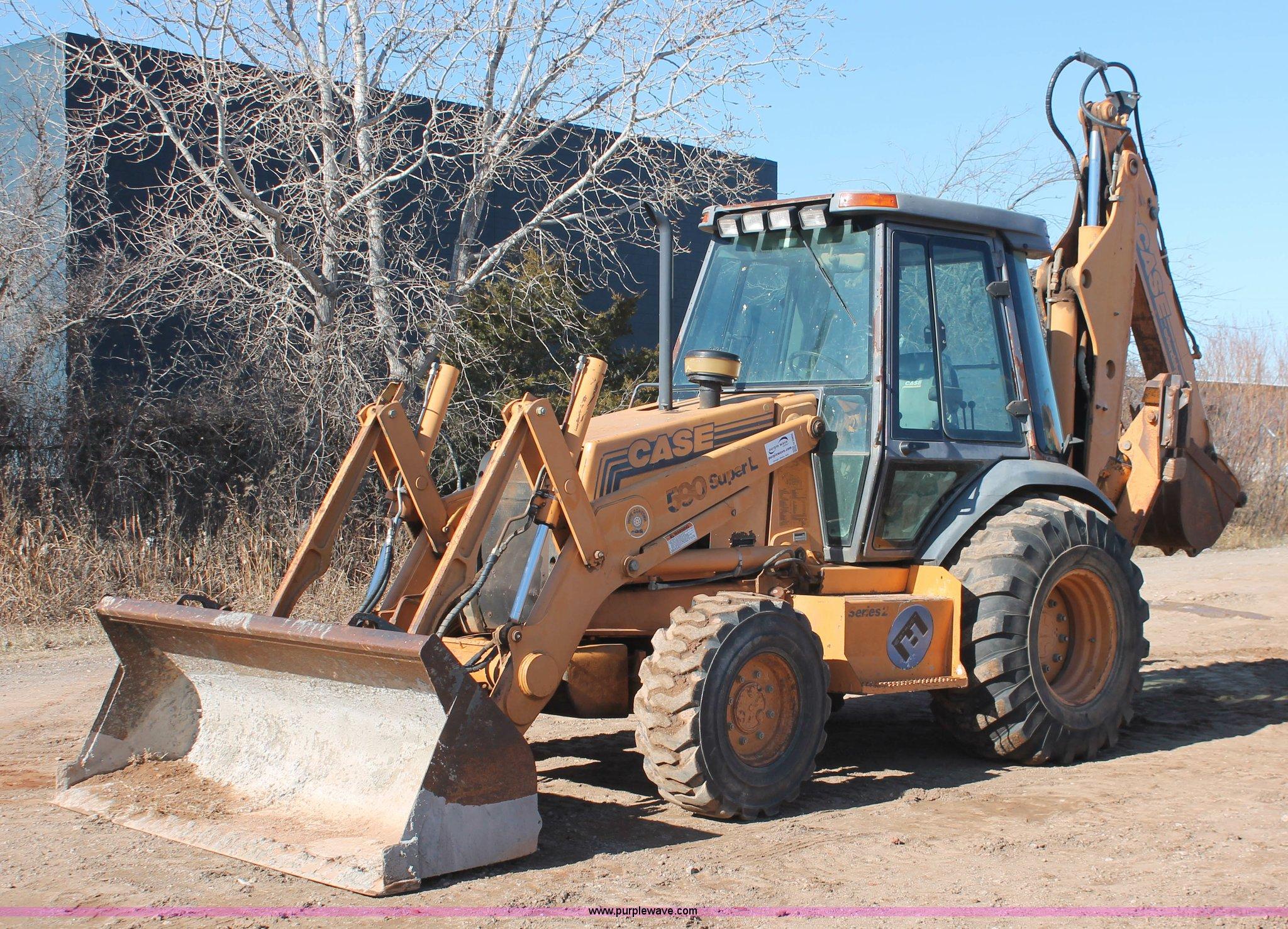 H5966 image for item H5966 1996 Case 590 Super L backhoe