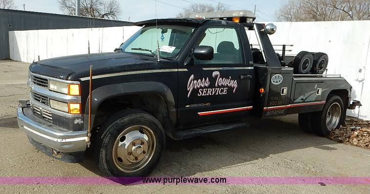 Dee Zee Running Boards >> 1994 Chevrolet Silverado 3500 tow truck | Item I5176 | 2 ...