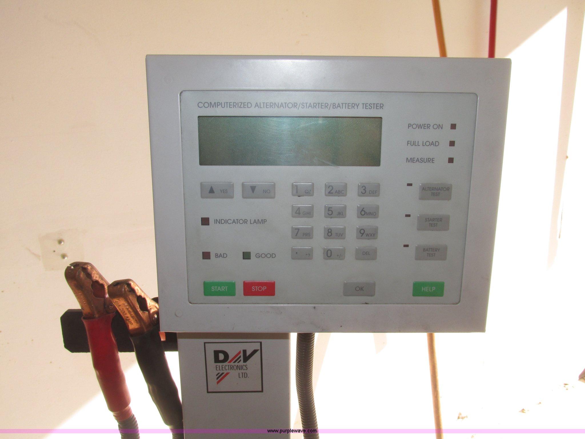 Alternator tester and voltage regulator   Item AV9227   SOLD