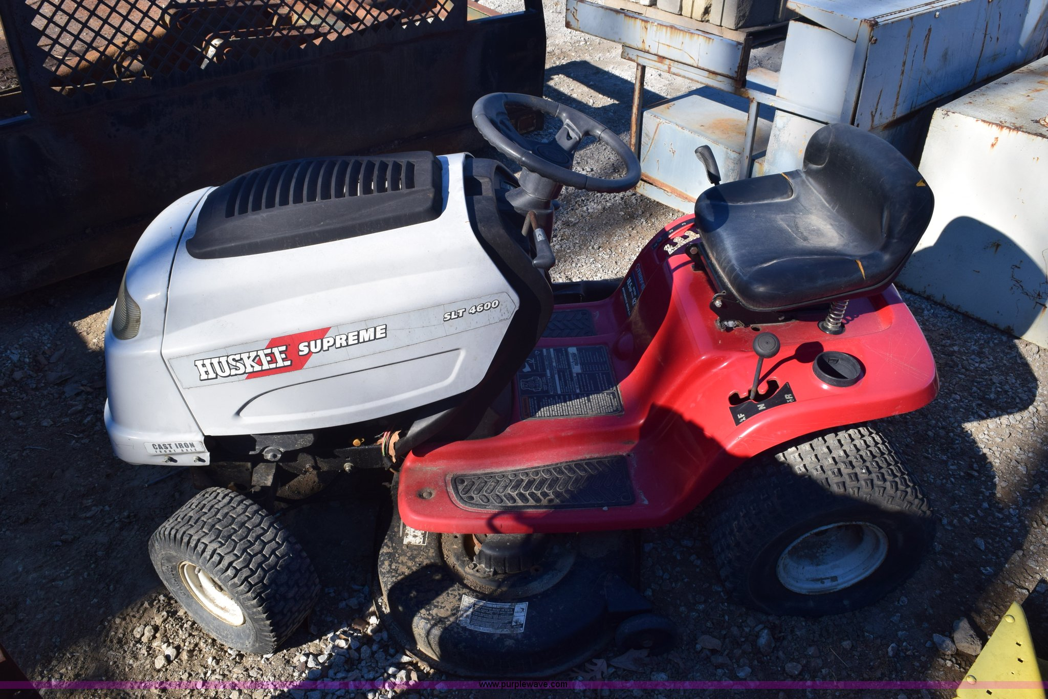 2) riding lawn mowers   Item BB9624   SOLD! February 25 Veh