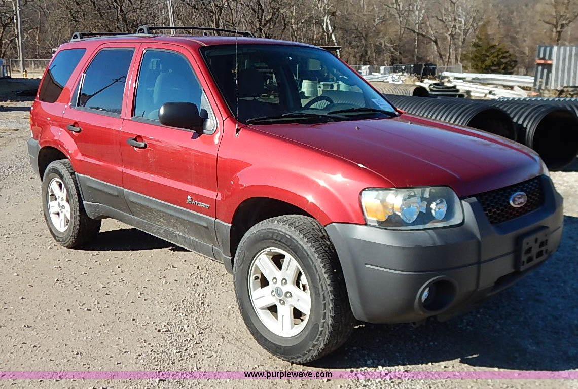 2005 Ford Escape Hybrid Suv Item I5138 Sold February 25