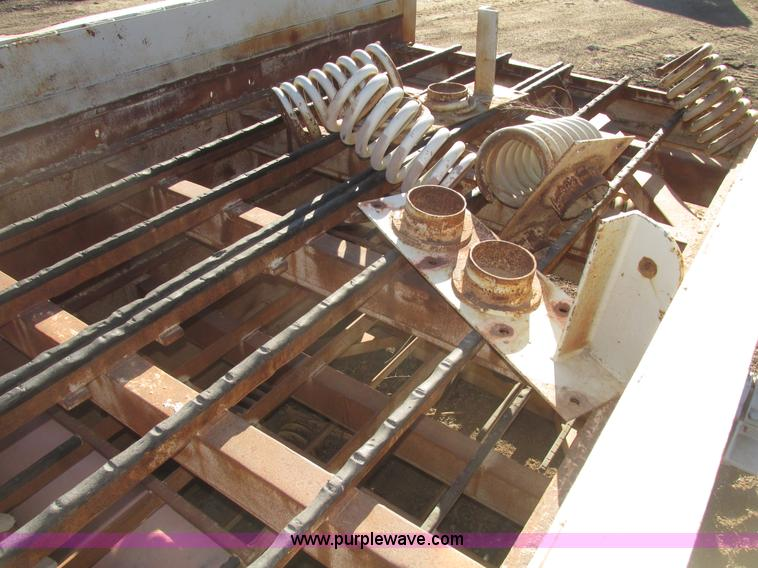 Deister three deck vibrating screen | Item G9819 | SOLD! Feb