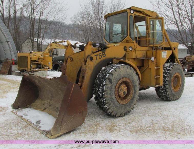 75b Michgan loader repair manual
