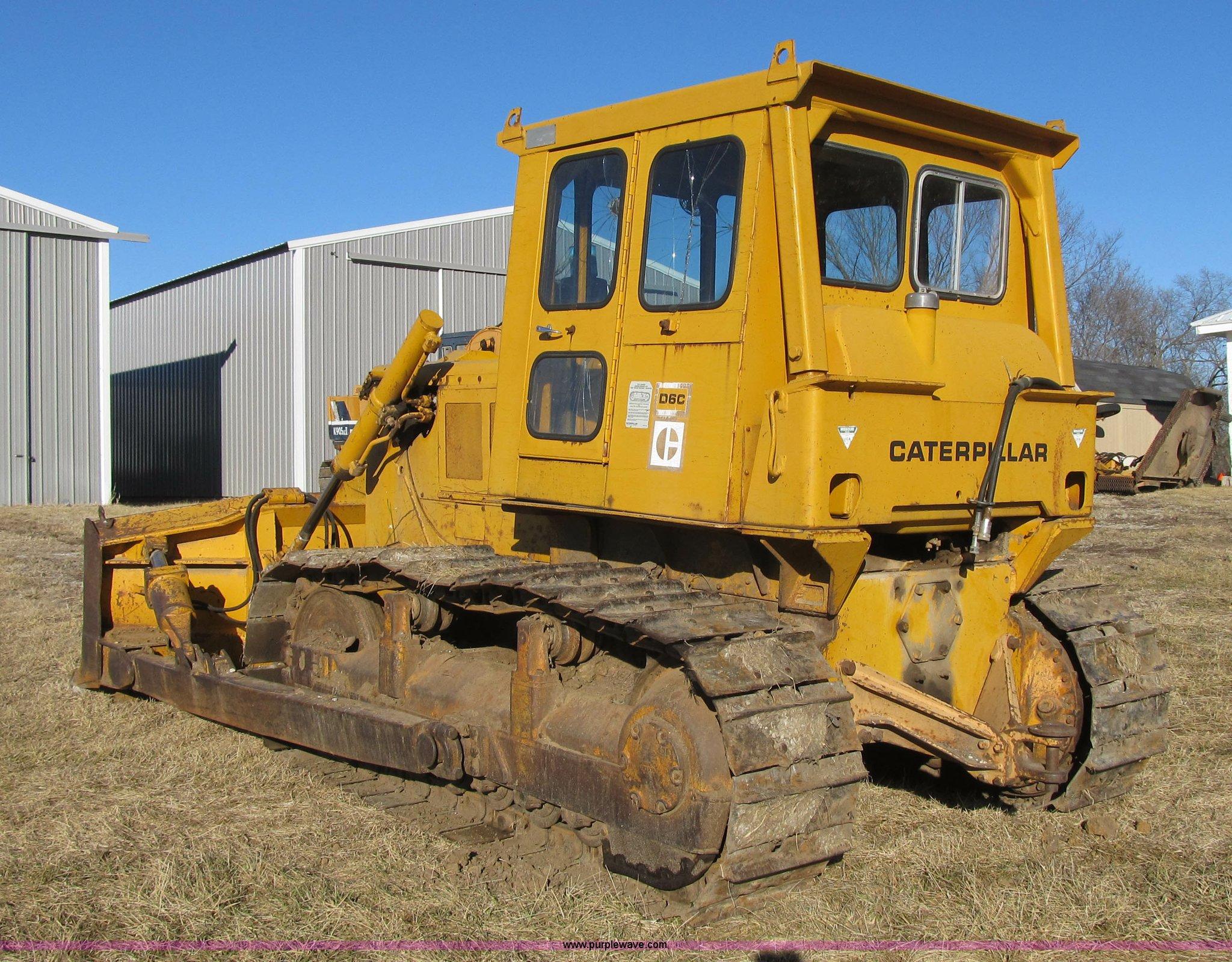 F8899B 1973 caterpillar d6c dozer item f8899 sold! february 26 Caterpillar D6C 10K at gsmx.co