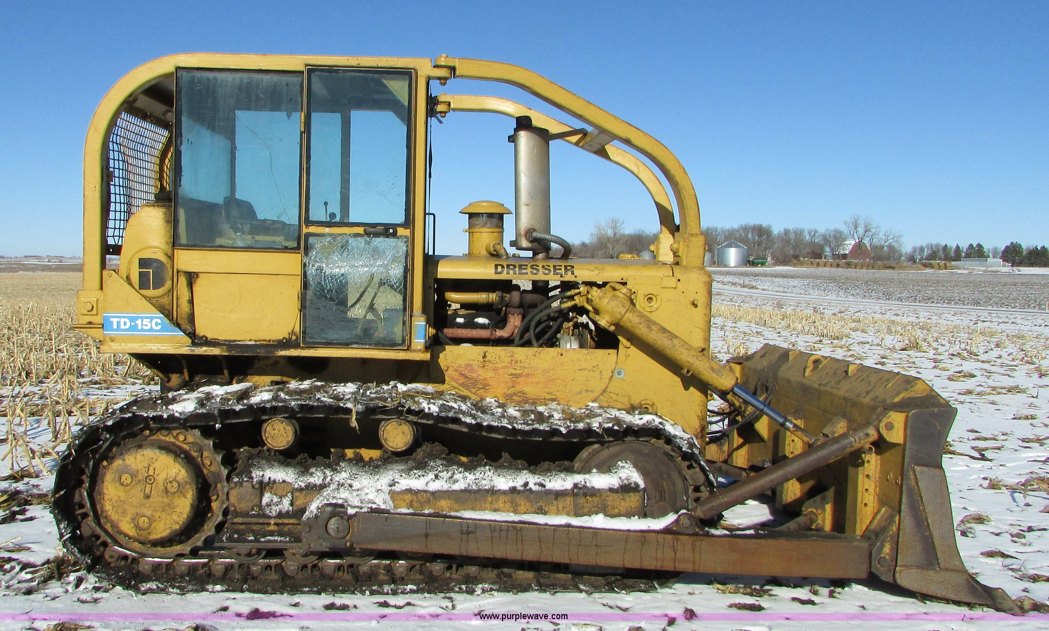 Dresser TD15C dozer | Item I6677 | SOLD! February 26 Constru