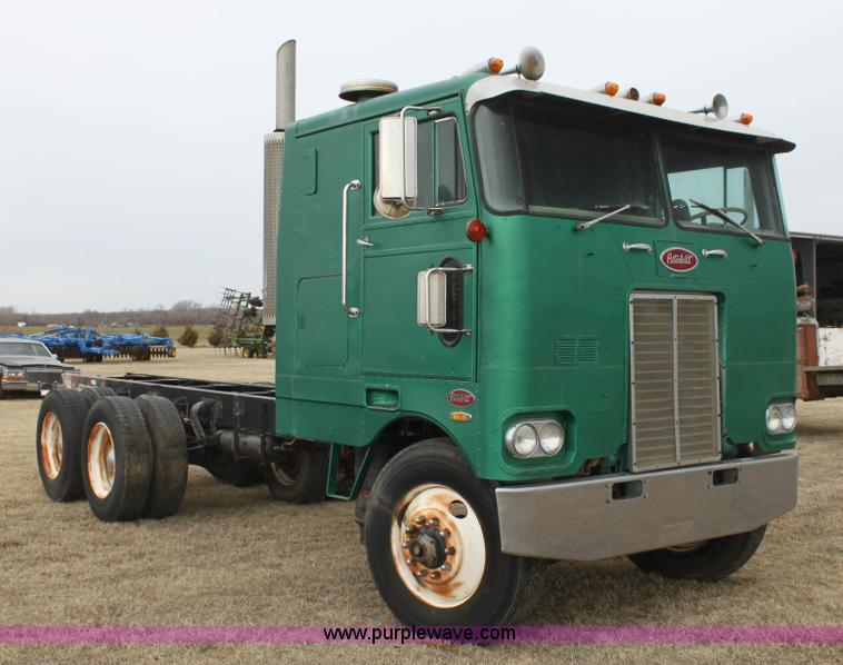 Cabover Trucks For Sale >> 1974 Peterbilt 352-A semi truck | Item L6545 | SOLD ...