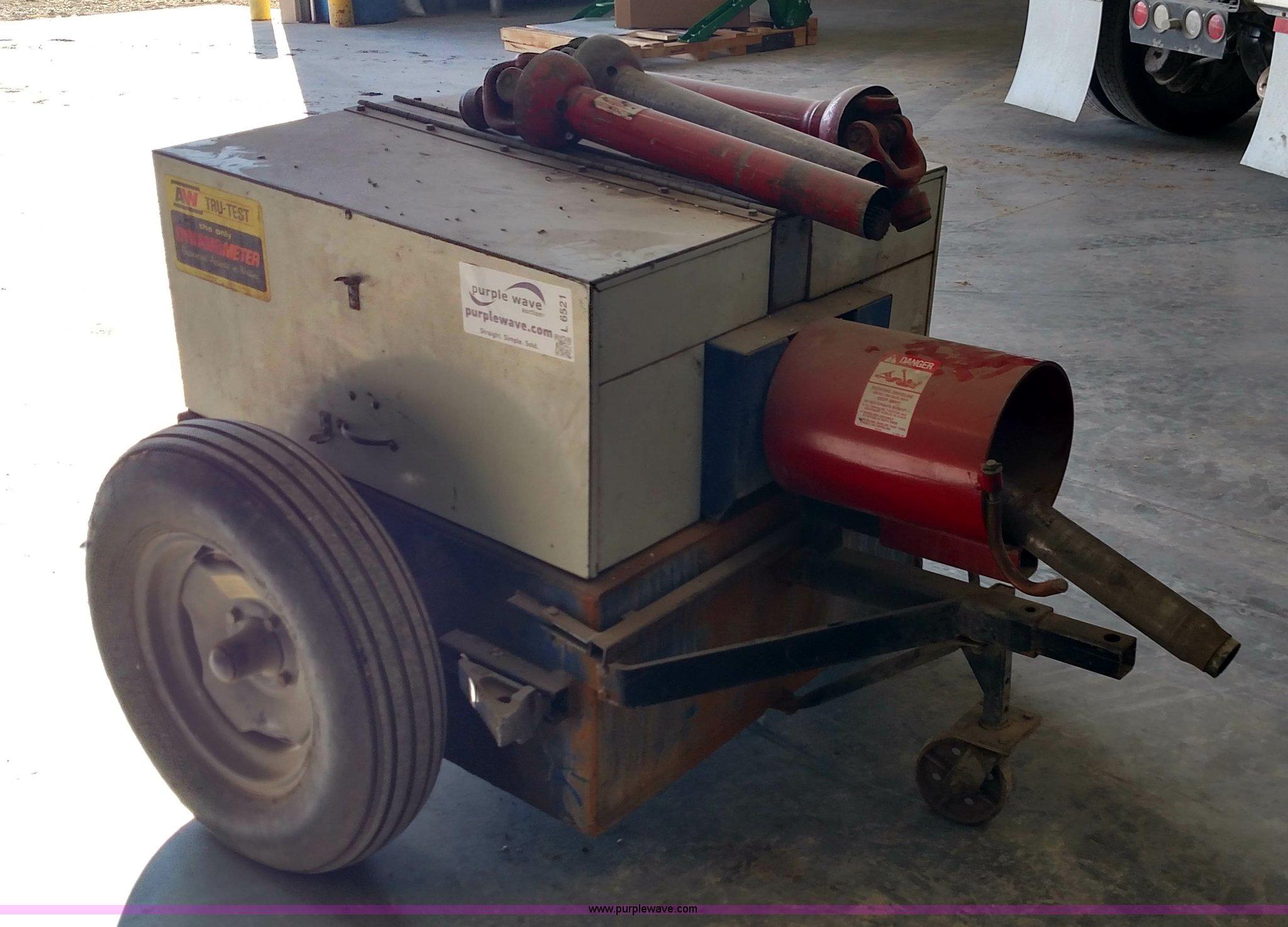 A&W Tru Test tractor dynamometer Item L6521