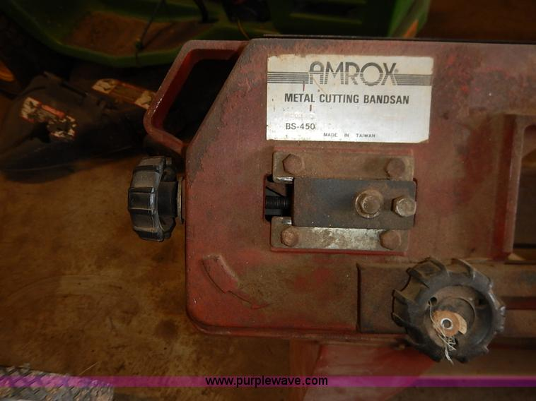 Amrox metal cutting band saw | Item BC9822 | SOLD! March 3 G