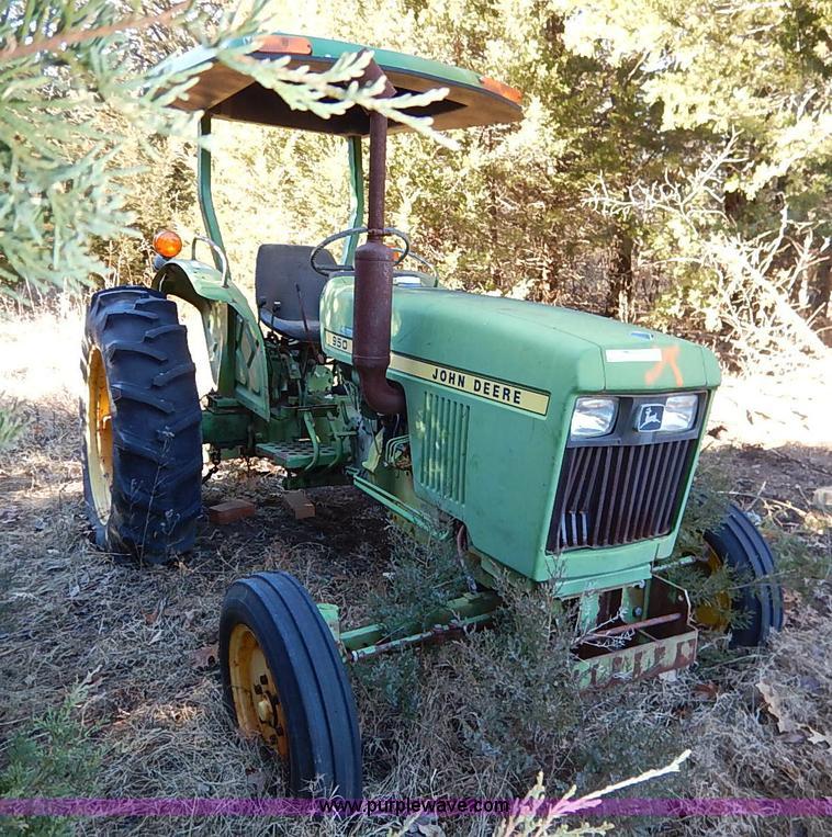 John Deere 950 Tractor Seat : John deere tractor item bc sold march