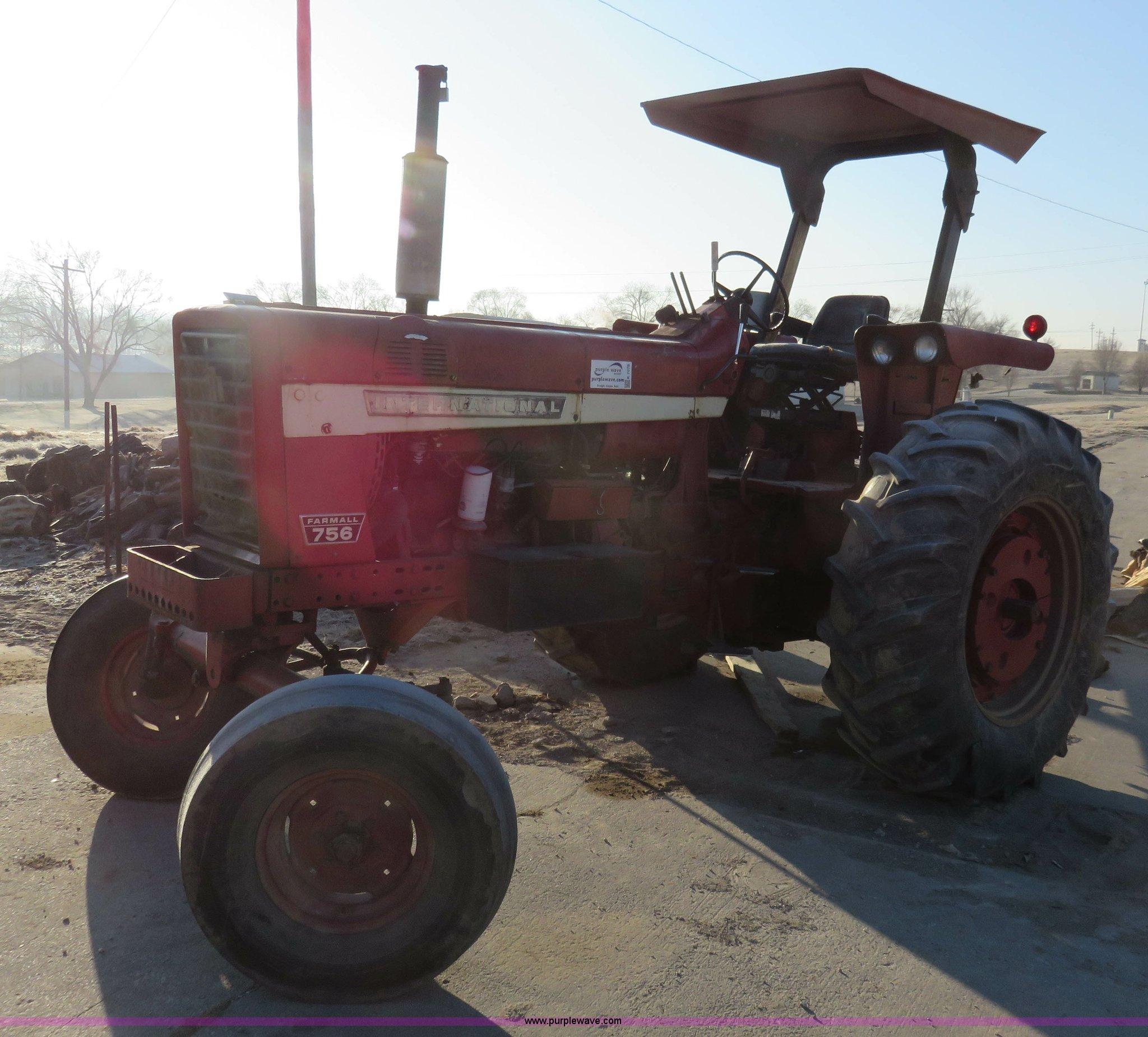 1969 International Farmall 756 tractor for sale in Kansas