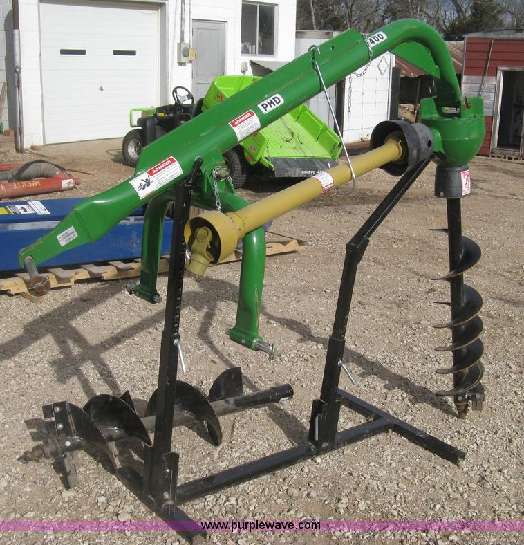 Rotomec Phd400 Post Hole Auger Item K2833 Sold March