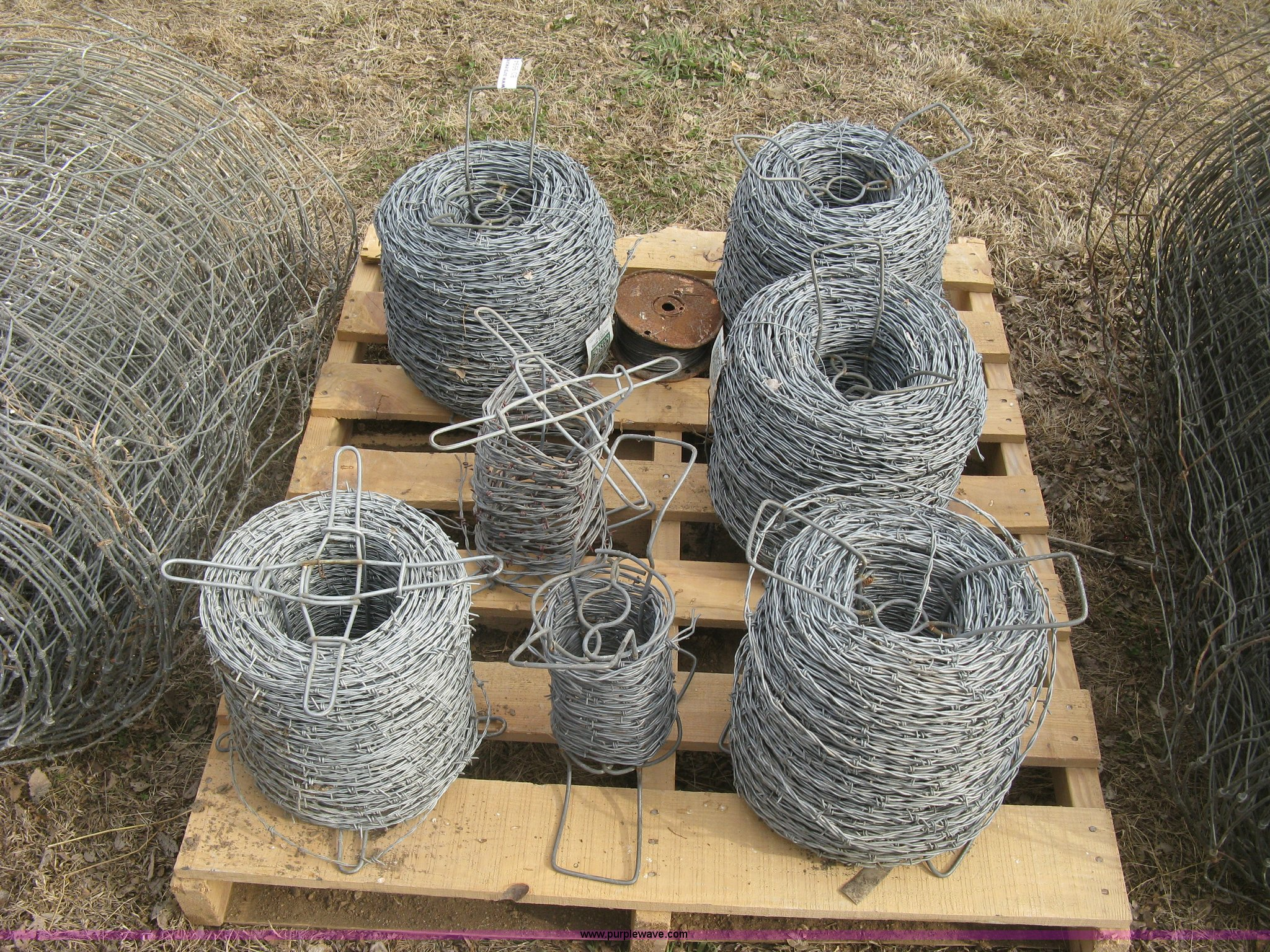 Assorted fencing materials | Item BD9594 | SOLD! March 11 Ag...