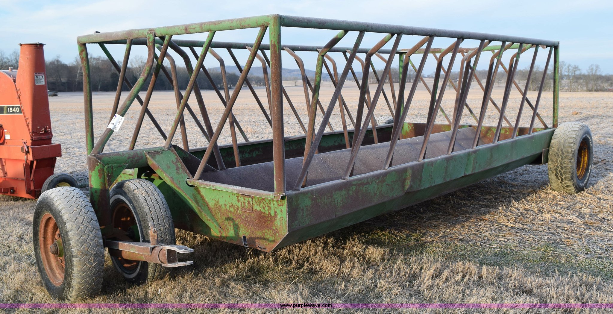 hay viewinventory asp allison inc wagon wagons feeders new equipment don si feeder