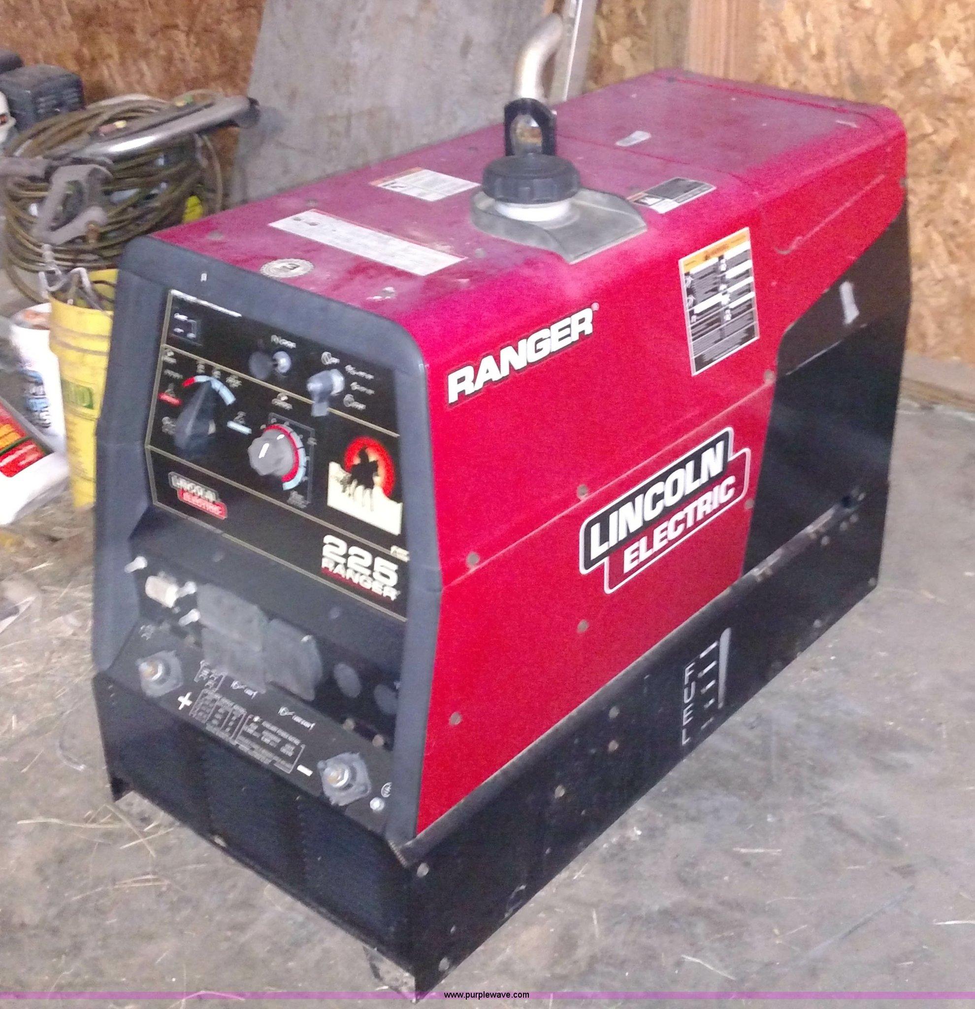Lincoln Ranger 225 Engine Welder Generator for sale (K2857 ...  |Lincoln- Rangers