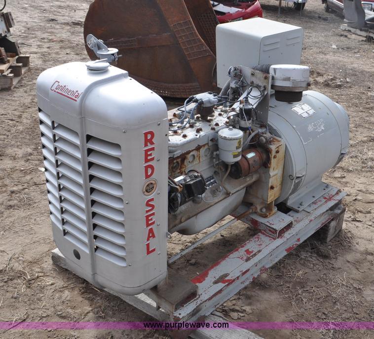 Red Seal KatoLight generator | Item F2194 | SOLD! March 11 V... Katolight Generator Wiring Diagram on