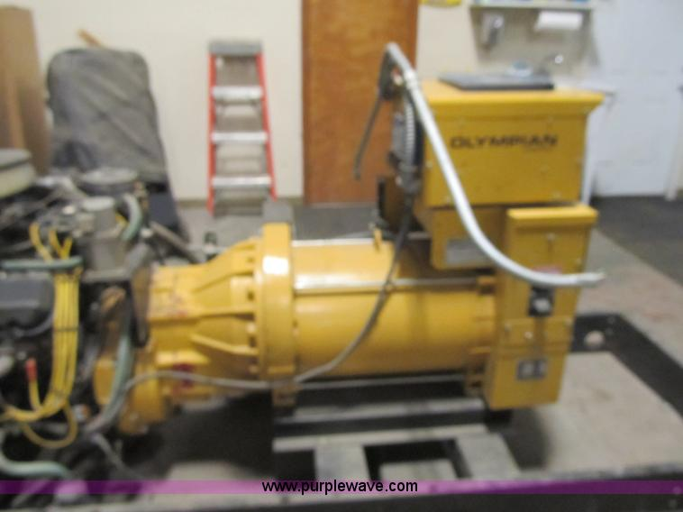 Generac Mfg. Olympian generator | Item F8972 | SOLD! March 1... on