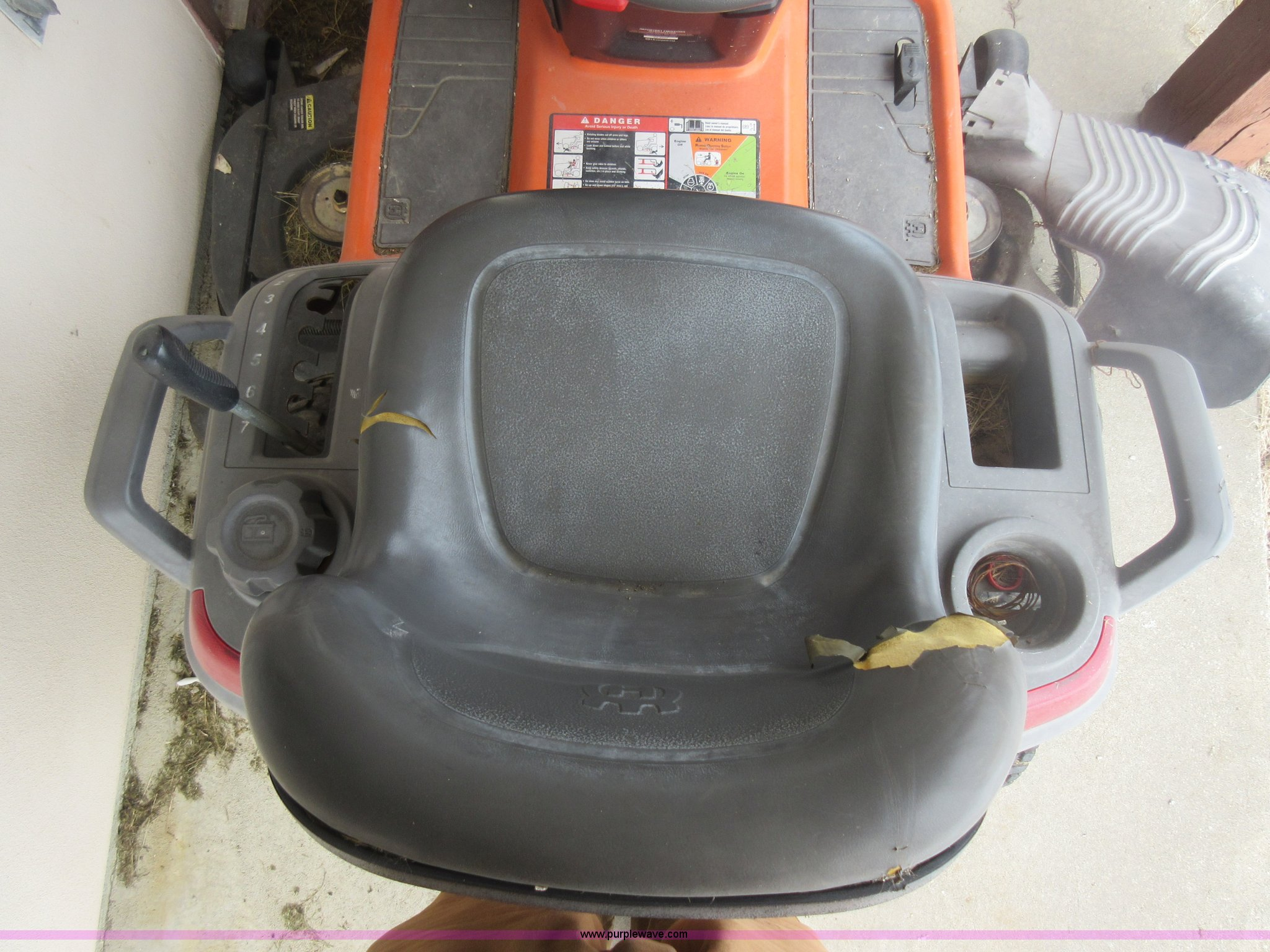 2007 Husqvarna LGT2654 lawn mower | Item AW9070 | SOLD! Marc