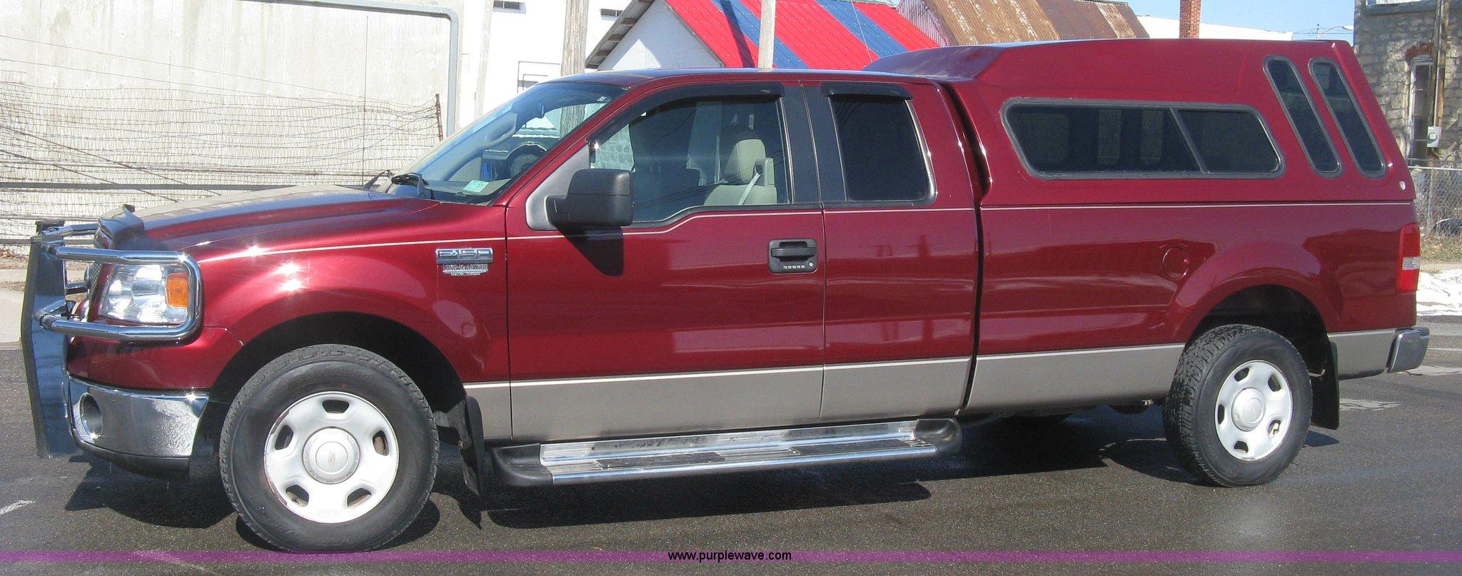 2006 Ford F150 Xlt Supercab Pickup Truck Item K2875 Sold F 150 Super Duty Full Size In New Window