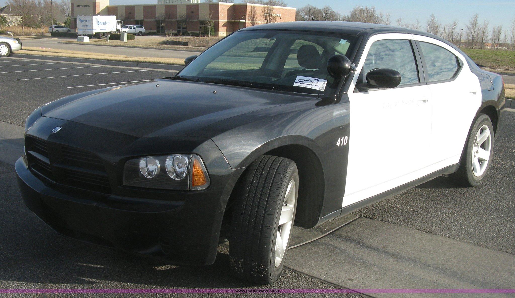 2010 Dodge Charger Police Item K2879 Sold March 11 Vehi
