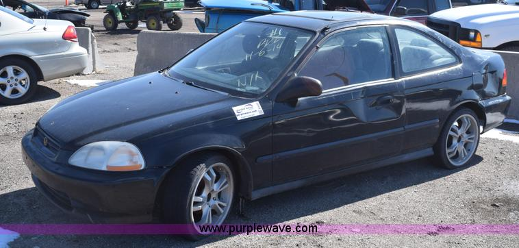 E6222 Image For Item E6222 1997 Honda Civic HX