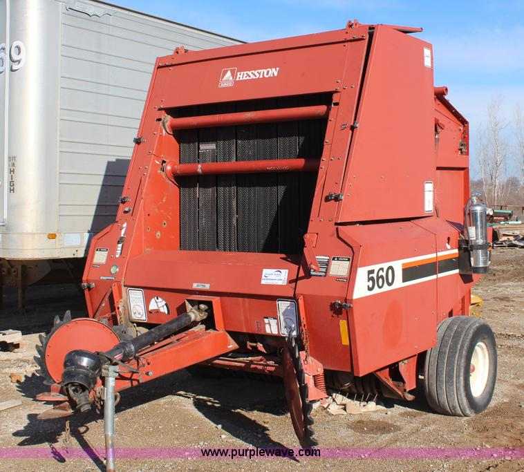 Hesston Manual 560 Baler