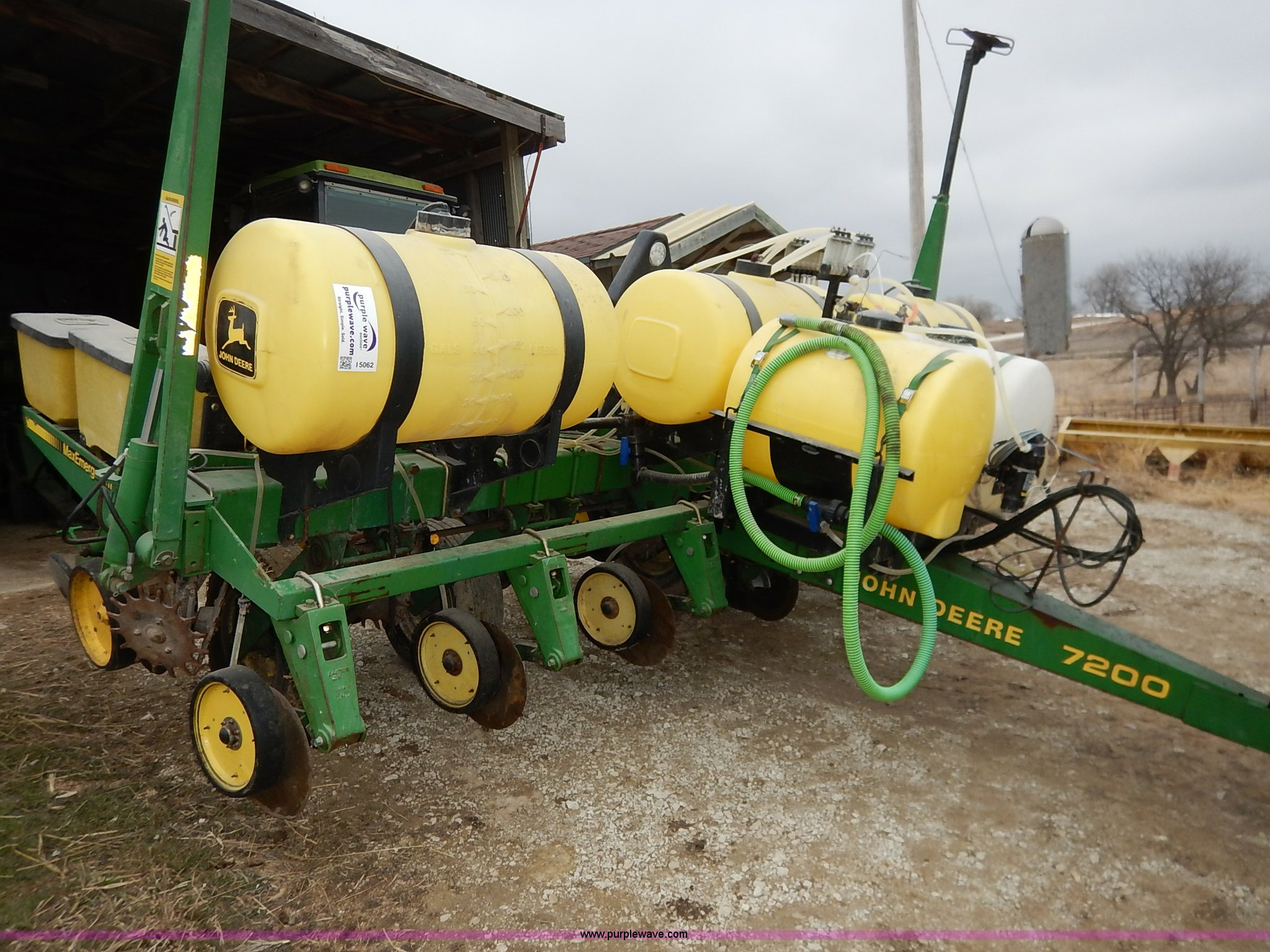 John Deere 7200 Planter Item I5062 Sold March 25 Ag Equ