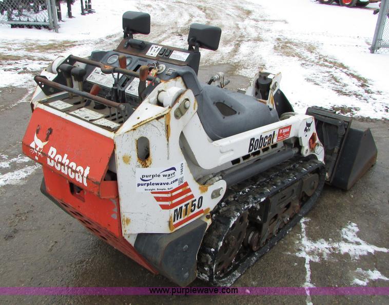 2002 Bobcat MT50 mini track loader | Item I6629 | SOLD! Marc