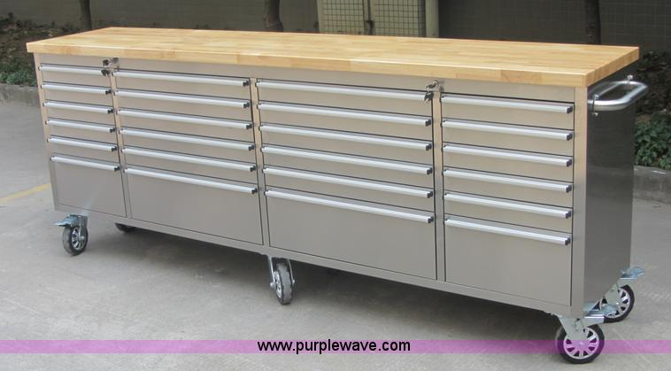 Excellent Tool Box Bench Bunnings 72 Stainless Steel 15 Drawer Work Andrewgaddart Wooden Chair Designs For Living Room Andrewgaddartcom