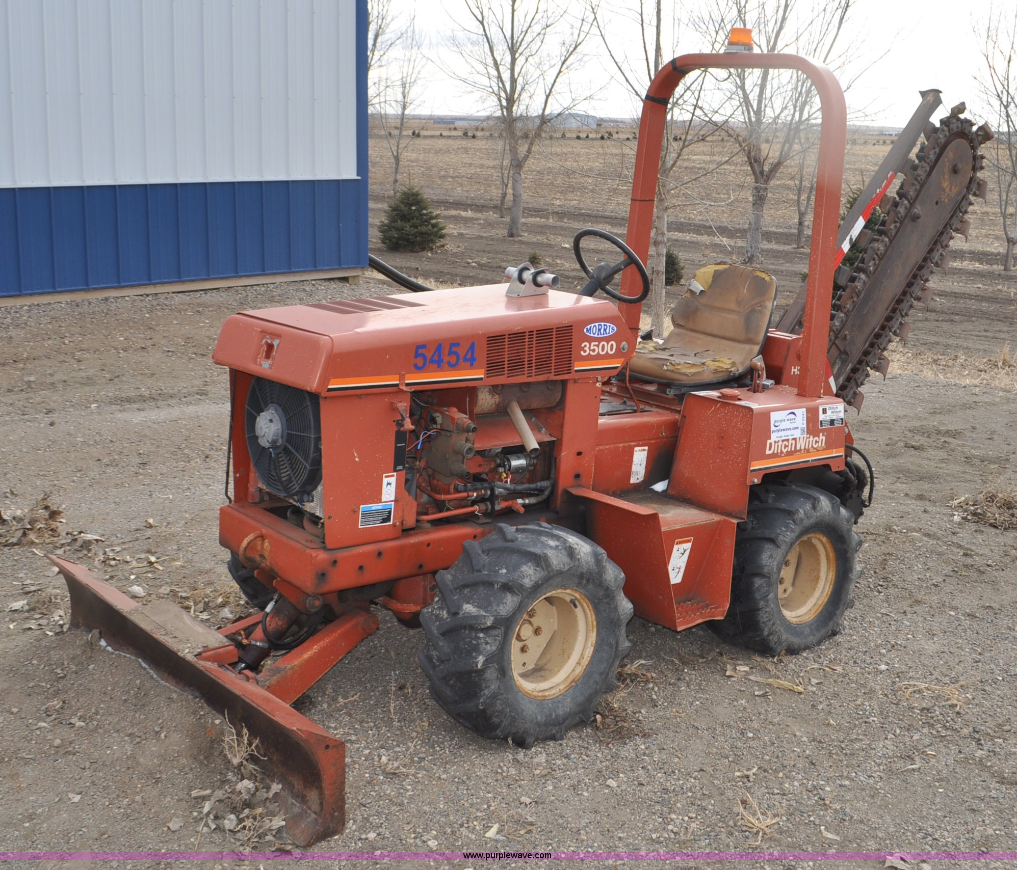 Ditch Witch 3500 trencher | Item F2241 | SOLD! March 26 Cons
