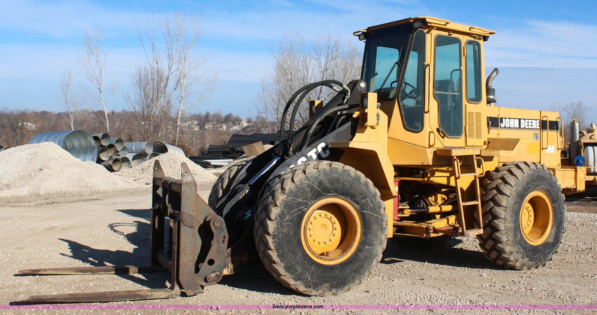 K7144 image for item K7144 1997 John Deere 544G TC wheel loader