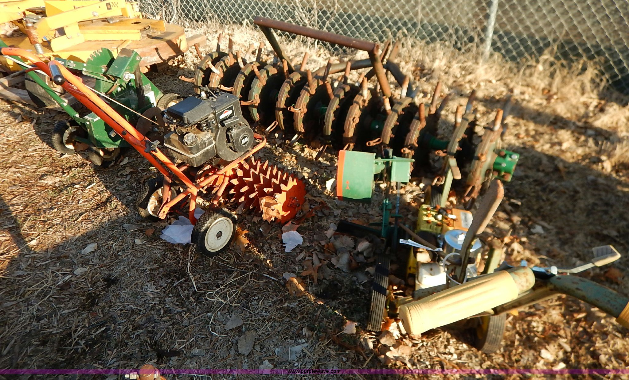 5) assorted lawn and garden equipment | Item BC9740 | SOLD!...