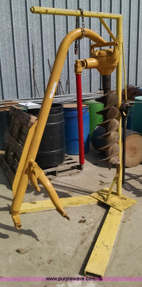 three point augers
