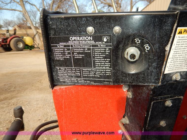 Jacobsen Greens King IV Plus reel mower   Item BC9664   SOLD