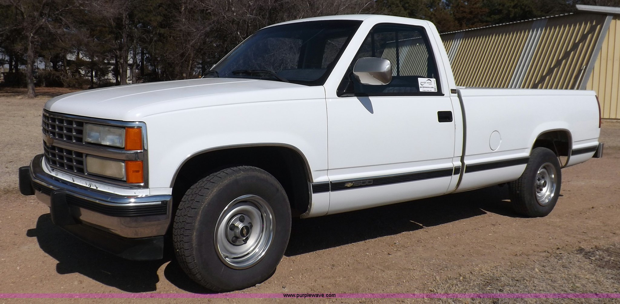 1990 chevrolet silverado 1500 pickup truck | item k3234 | so