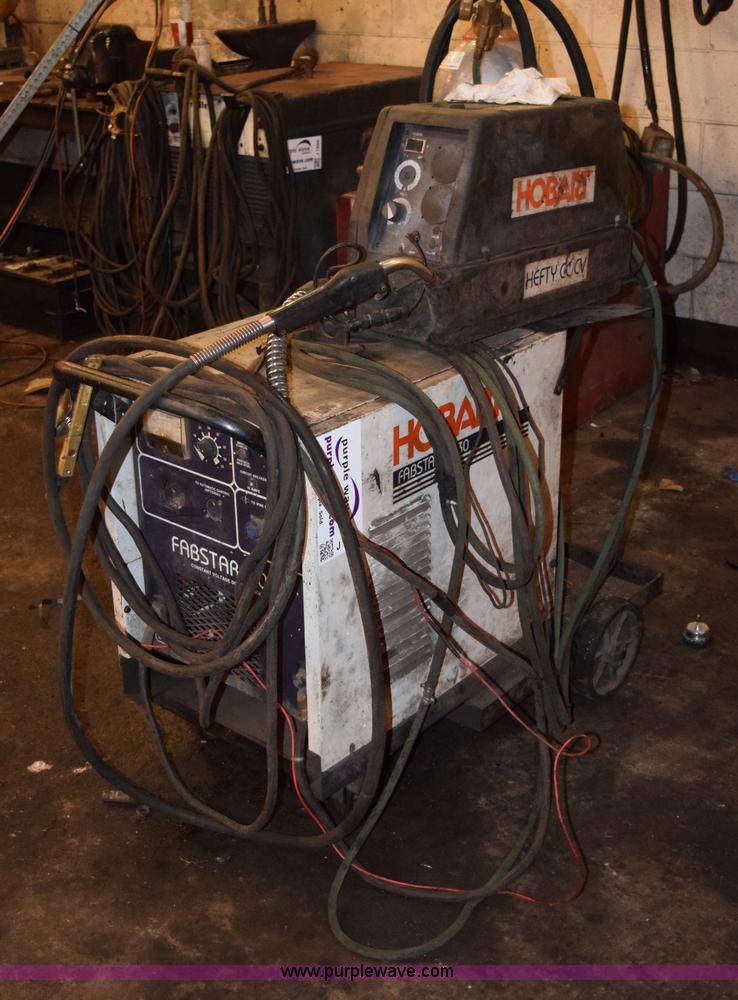 Hobart Fabstar 4030 wire welder   Item J1887   SOLD! April 1...