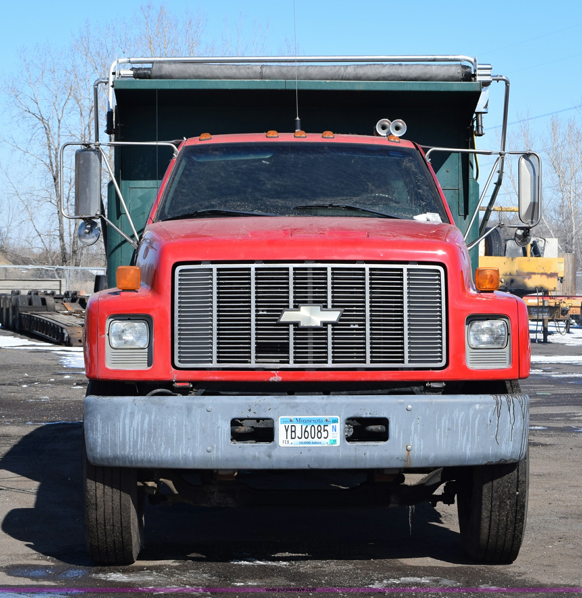 1995 Chevrolet Kodiak Dump Truck Item J1986 Sold April Chevy Full Size In New Window