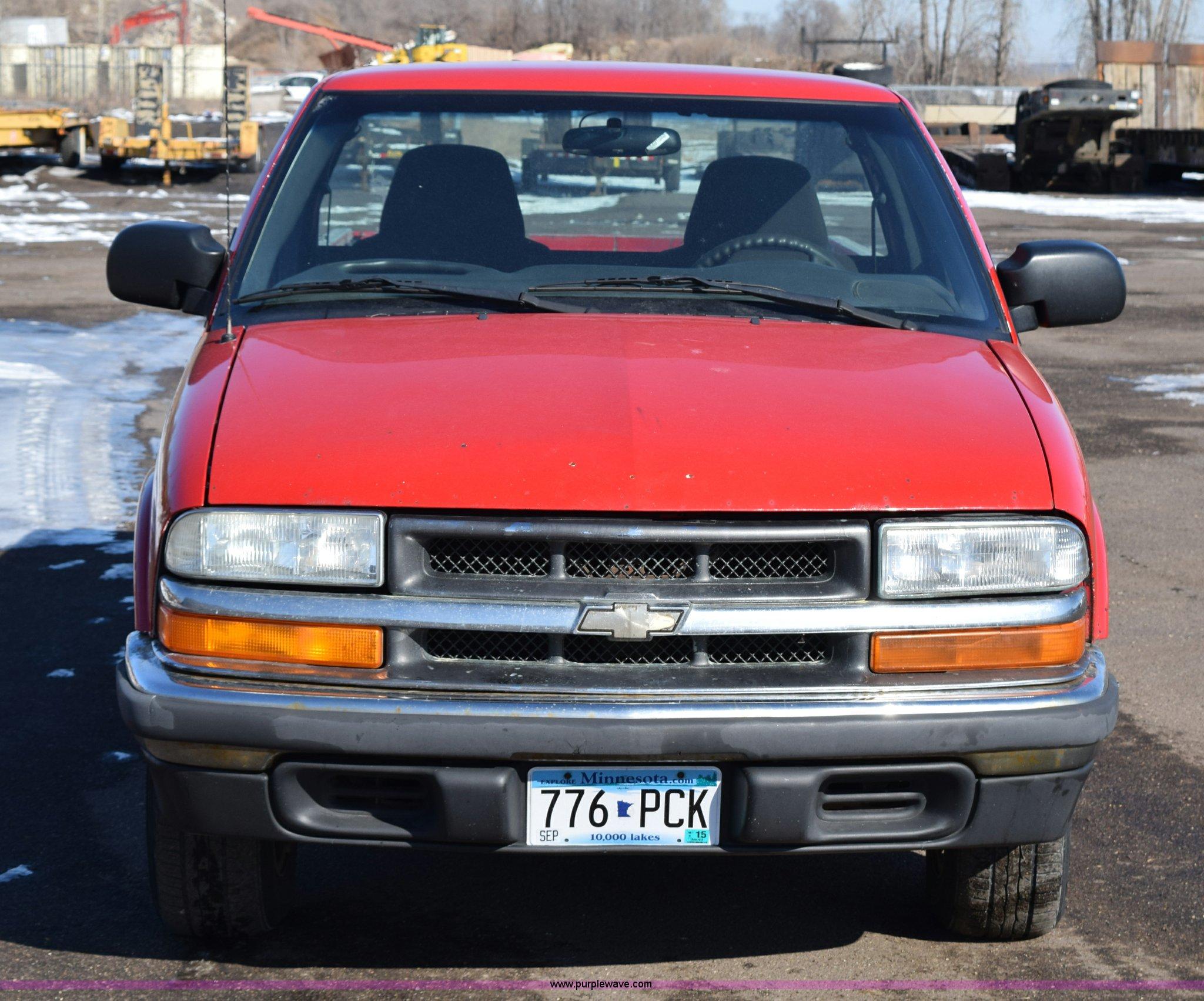 chevrolet s10 pickup by 2003 chevrolet s10 pickup truck item j1996 sold april 1