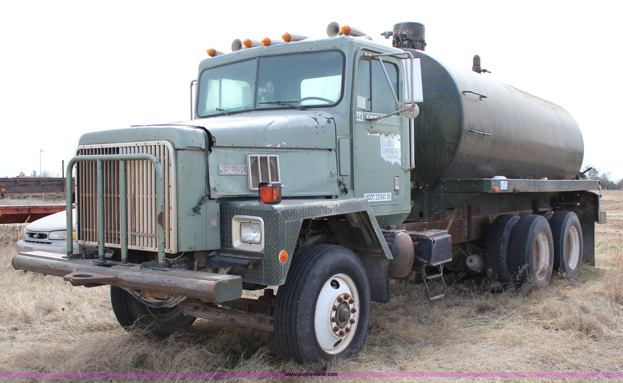 Trucks For Sale In Oklahoma Under 5000 >> 1996 International Paystar 5000 Vacuum Truck Item J2267